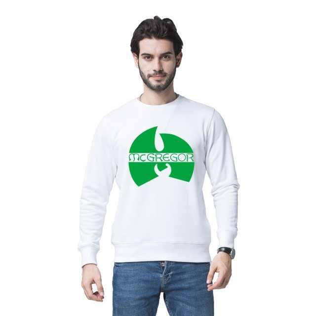 남성 탑 스웻 셔츠 남성 스웻 셔츠 남성 니트 테리 통기성 캐주얼 시니어 코너 맥그리거 풀오버