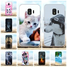 For Samsung Galaxy J2 Core Case Soft TPU J260F J260M Cover Scenery Patterned Capa