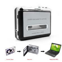 цена на Tape to PC Super USB Cassette-to-MP3 Capture Audio Music Player CD Converter