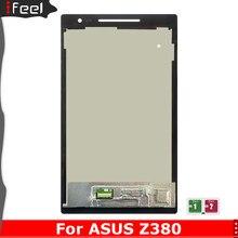 Тестирование сменный ЖКД для Asus Z380 Z380KL Z380M Z380C Z380CA ЖК Дисплей сенсорный Экран планшета Панель сборки P022 P024 P00A