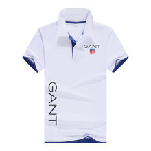 The Latest Polo Shirt For Spring And Summer Of 2021, Pure Cotton Breathable Fashion Classic English Letter Printing