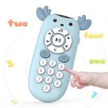Детский телефон игрушка для малыша 0-12 месяцев мобильные телефоны для детей телефон игрушка ребенок мобильный ранние образовательные игрушки машинного обучения