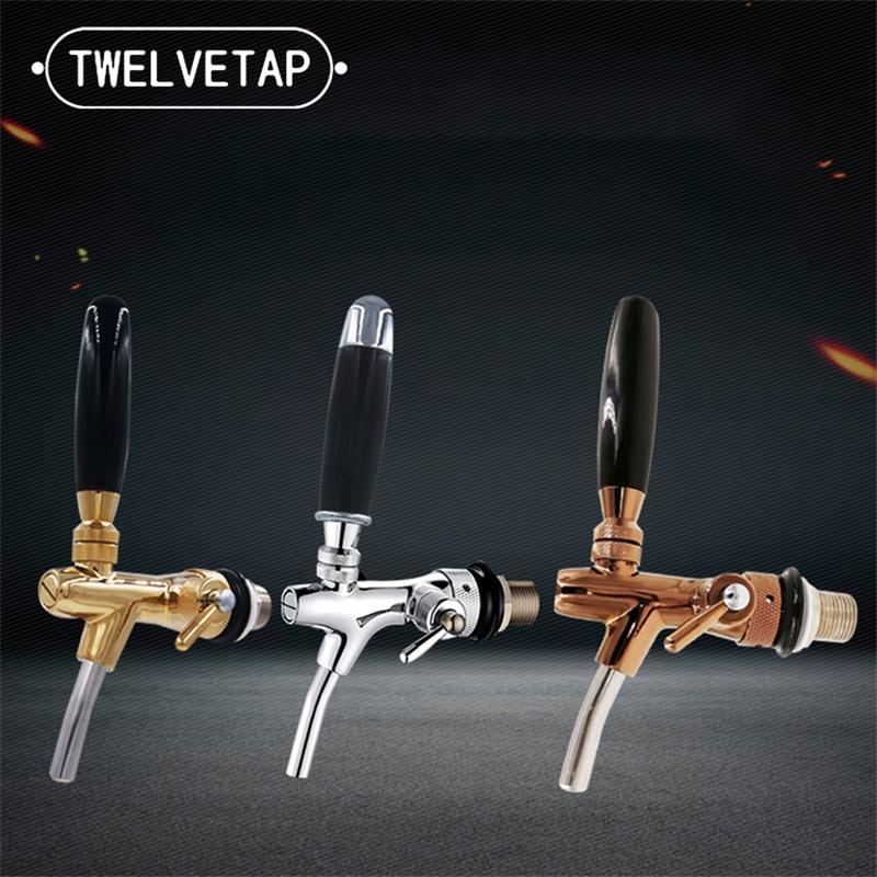 TWELVETAP Adjustable Beer Tap  Drinking of Barreled Beer Machine Valve Wine Faucet  for Home Bar Club Brewing FD-814T