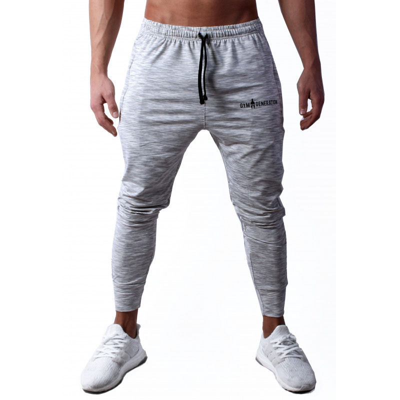 Image 2 - FRMARO Mens Joggers Casual Pants Fitness Men Sportswear Tracksuit Bottoms Skinny Sweatpants Trousers Gyms Jogger Track Pants-in Skinny Pants from Men's Clothing
