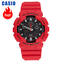 Casio relógio G-SHOCK série esportes tendência relógio masculino GA-100B-4A