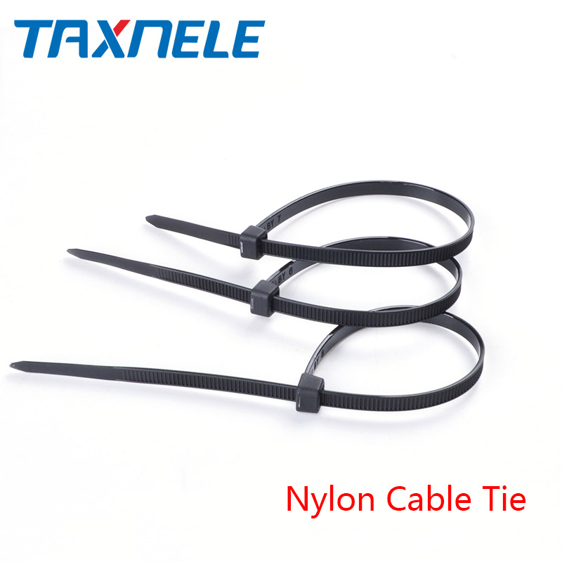 100pcs/lot Self-locking Cable Tie Nylon Cable Tie 3*100mm 3*150mm 4*200mm MRO & Industrial Supply Fasteners & Hardware Cable