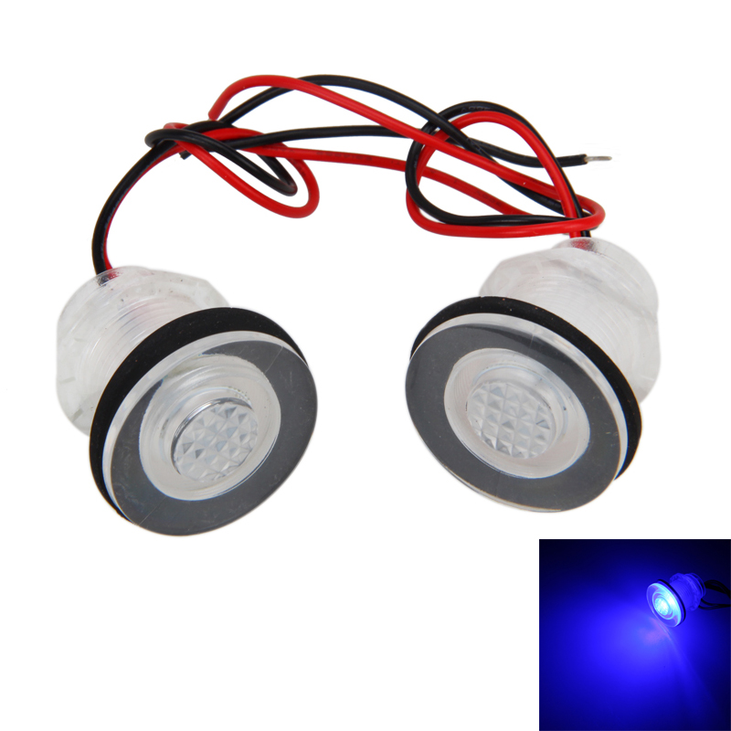 1 Or 2Pair 12V IP68 Waterproof Blue LED Boat Marine RV Courtesy Light For Boats Stair Livewells Submersible