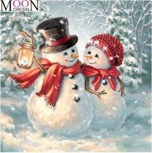 Алмазная 5d картина «сделай сам» с рождественским снегом Мультяшные