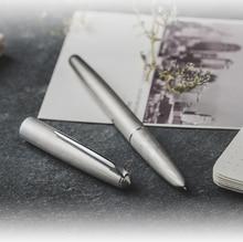 New HERO 100 14K Gold Silver Fountain PEN Converterคลาสสิกแท้คุณภาพที่หมุนเวียนในตลาดเขียนปากกาชุด