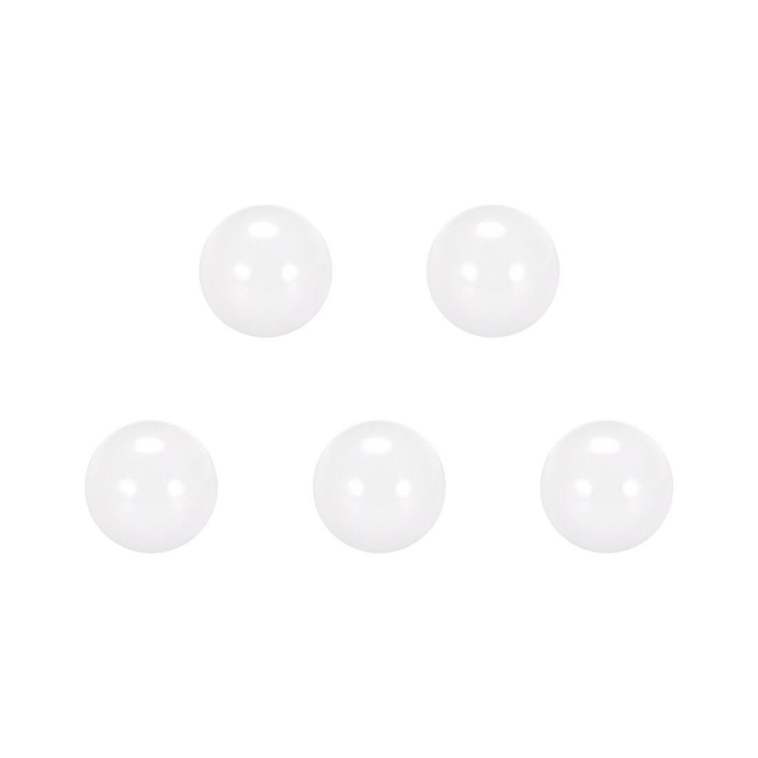 Uxcell 2.5mm Ceramic Bearing Balls, ZrO2 Zirconium Oxide Ball G5 Precision 5pcs