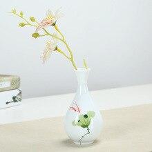 Flower Vase  Table Ceramic Decoration Home Vases for Flowers Tabletop