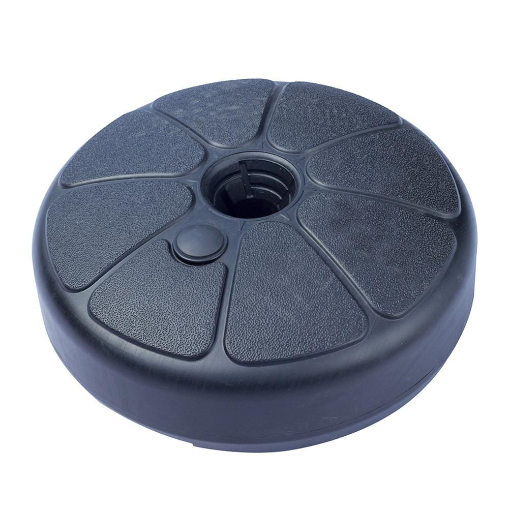 Outdoor Sun Umbrella Base Stand Round Water Filled Umbrella Holder For 3.5-3.8cm Umbrella Pole #35