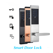 Digital Smart Touch Screen Keypad Password Lock Door Inteligente Smart Lock TTlock Security Electronic Door Lock