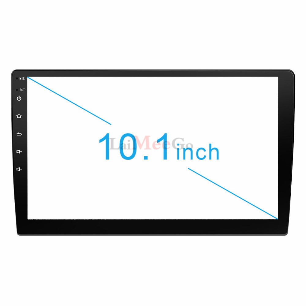 2din Car radio 9 10.1inch Android system Auto stereo 2.5D Capacitive Screen Bluetooth WIFI GPS Quad Core For Universal Car  (18)