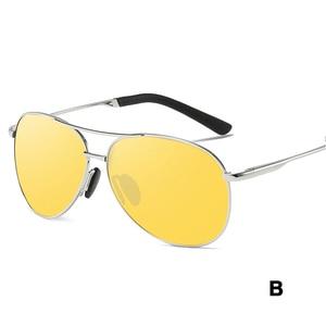 Image 3 - YSO 2020 מקוטב ראיית לילה משקפיים לגברים ראיית לילה משקפי לרכב נהג נהיגה אנטי בוהק צהוב משקפיים נשים 6695