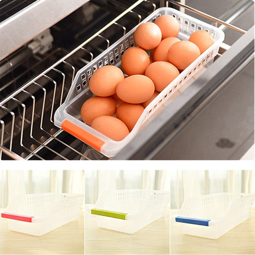 Storage-Shelf Organizer Case Refrigerator Drinking-Drawer Spice Food-Fruits 1-Layer Kicthen