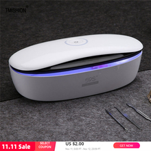 UV Light High Temperature Sterilizer Box forCosmetics Nails Pedicure Tools  Jewelry Phone Sterilizer Esterilizador Machine