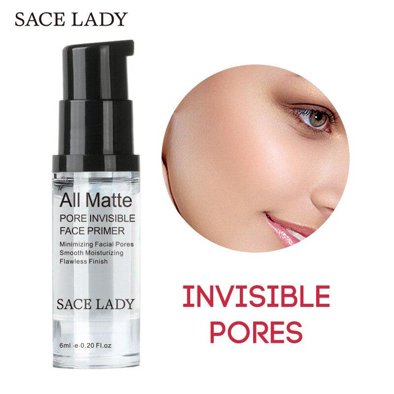 Facial-Cream Cosmetic Foundation Makeup Liquid Face-Base Brighten LADY Primer 6ml SACE