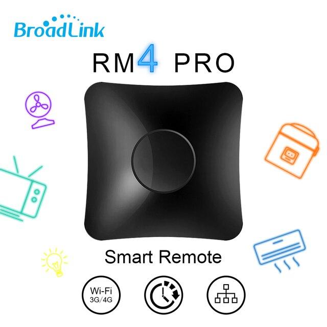 Broadlink RM4 Pro Mini inteligentna automatyka domowa WIFI + IR + RF uniwersalny inteligentny pilot działa z Alexa Google Home inteligentnego domu