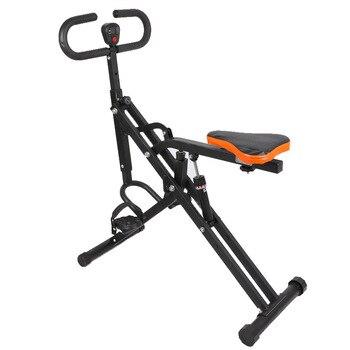 Máquina de ejercicio multifuncional para montar a caballo, para interiores, Ultrasport f-bike y f-rider