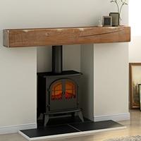 Panana Solid Oak Beam Floating Shelf Mantle Piece Fire Place Surround Sanded Log Burner Wooden Furniture Panel Fast delivery