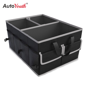 AUTOYOUTH Car Trunk Storage Bag Folding Multifunction Container Tool Food Storage Bags Organizer Trunk Box for Universal Car