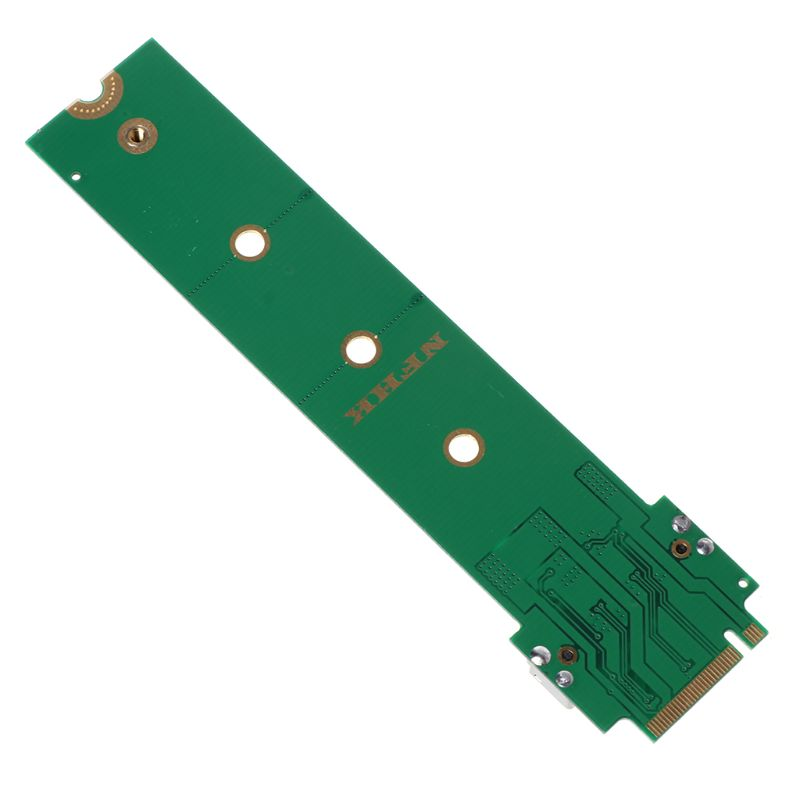 For MacBook Air Pro <font><b>12</b></font>+<font><b>16</b></font> <font><b>Pins</b></font> <font><b>SSD</b></font> to M.2 Key M (NGFF) PCI-e Adapter Converter Card for PC Computer Accessories H4GA image