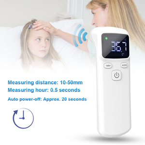 Image 5 - Non contacting IR Infrared Sensor Forehead Body Thermometer Temperature Measurement LCD Digital Display  for Baby Kids Adults