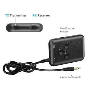 Image 4 - RX/TX 2 в 1 стерео Bluetooth 4,2 передатчик приемник 3,5 мм аудио адаптер совершенно новый и высококачественный
