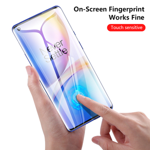 Image 3 - CHYI 3D Curved For Oneplus 7 pro 7T Screen Protector Nano Hydration Film Oneplus Nord 1+ 8 Full Screen Cover Not Tempered Glass