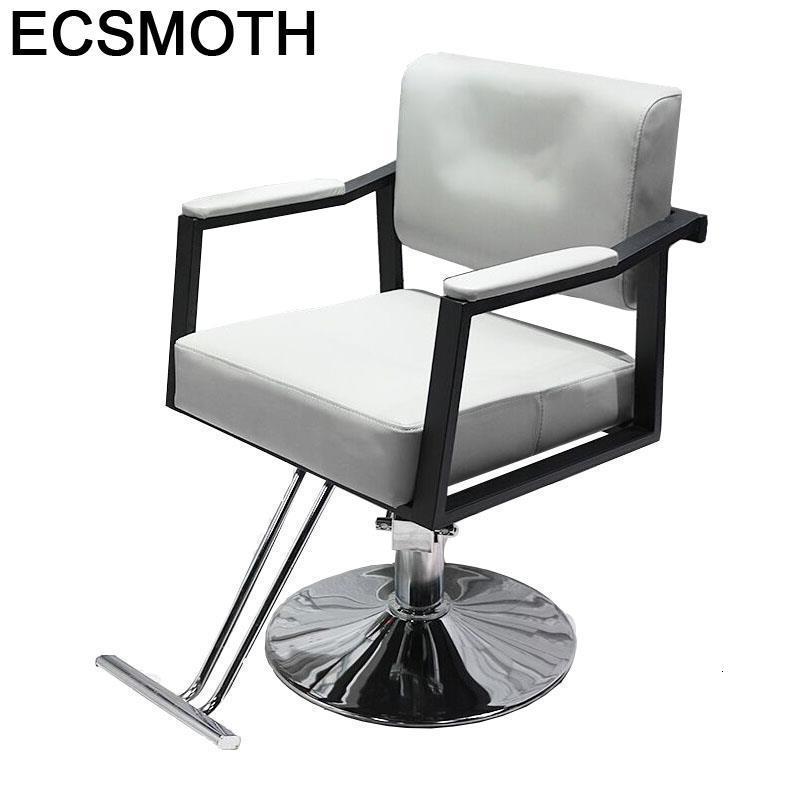 Belleza De Makeup Barbeiro Chaise Hair Furniture Fauteuil Stoel Schoonheidssalon Mueble Silla Salon Shop Cadeira Barber Chair