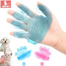 Собачья перчатка для игры с кошкой, щетка для питомцев, кошек, массажные расчески, мягкая резина, устойчивая к царапинам, перчатка для питомцев, для чистки, товары для ухода за кошками