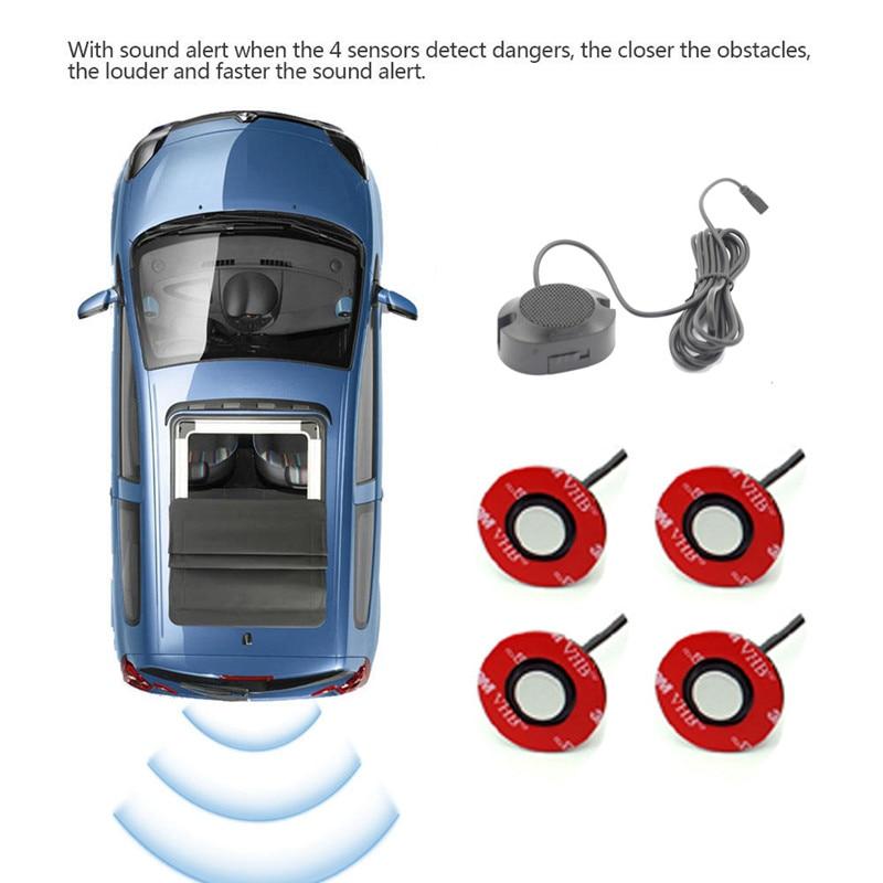 Radar DI Backup per sensori DI parcheggio a LED per Auto per GEELY BO RUI BL coupé BO YUE DI HAO CK EMGRAND GS GC2 GC5 GC6 GC7 Haoqing