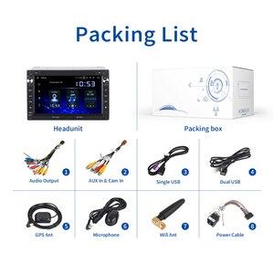 Image 5 - Dasaita 2 דין אנדרואיד 10.0 רכב DVD Raio עבור פולקסווגן פאסאט (MK5) ג טה בורה/פולו (MK3,4) גולף (MK4) Citi Golf, צ יקו שרן Transporter