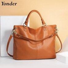 100% real cowhide leather women's handbags large genuine lea