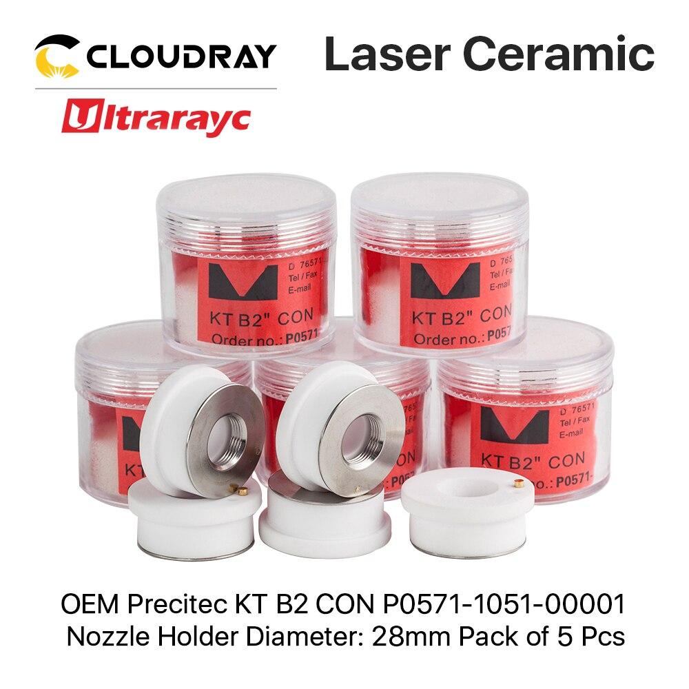 Ultrarayc 5PCS Precitec Raytools Ceramic Rings Dia.28mm 24.5mmP0571-1051-00001 For Precitec Procutter & Lightcutter