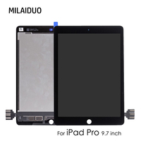 Original LCD Display For iPad Pro 9.7 inch A1673 A1674 A1675 Touch Screen Digitizer Assembly Replacement No Home Button