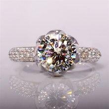 3 карата натуральный бриллиант ювелирные изделия 100% Настоящее