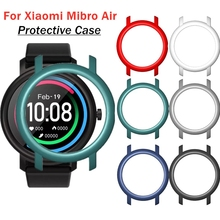 Protective Case For Mibro Air Smart Watch Colorful PC Frame Bumper Shockproof Cover Shell For Xiaomi Mi bro Air Accessories