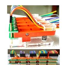 Pitch 1.27mm 3P 4P 5P 6P 7P 8P 9P 10P Test standı PCB klip kelepçe fikstür fikstür Probe pogo pin indir programı yanık
