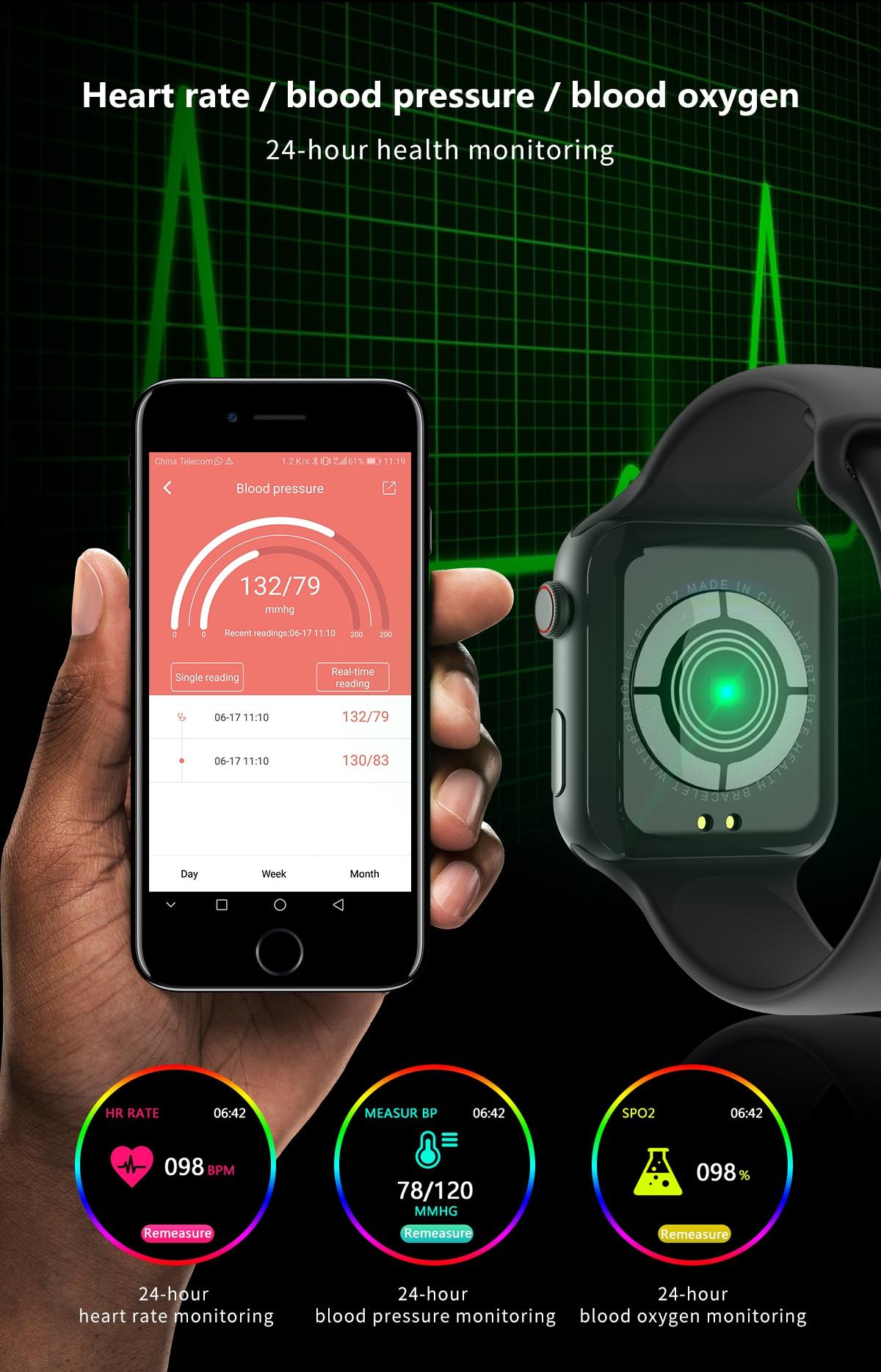 H8ce9ed65d53f4aac98eb469673bce0a66 696 New Style F10 Smart Watch Full touch screen Bluetooth Smartwatch Music Camera Heart Rate Monitor Waterproof Smart Bracelet