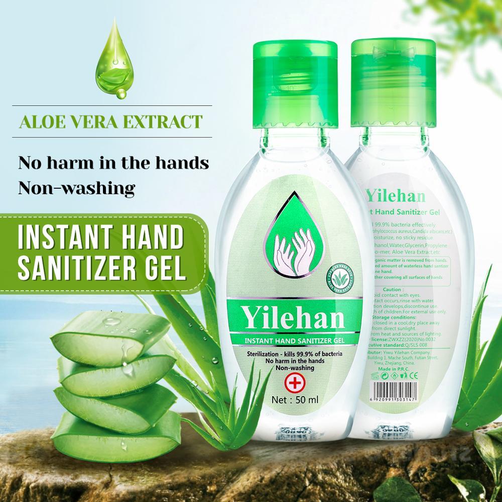 Портативный дезинфицирующее средство для рук гель анти-бактерии увлажняющее жидкое одноразовые не чистый безводный крем гель для мытья рук
