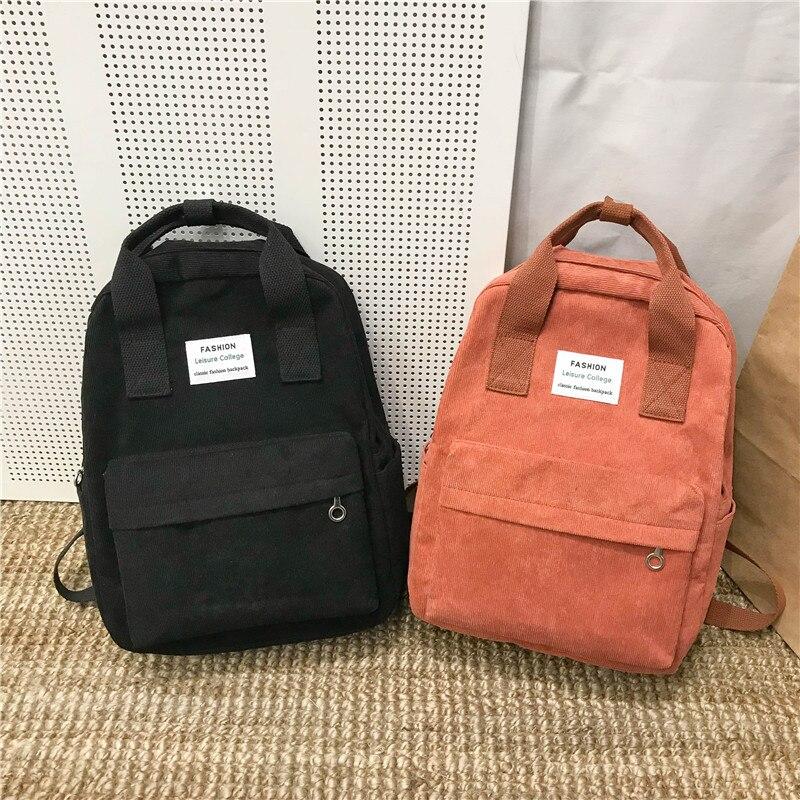 Новый тренд, женский рюкзак, Модный женский рюкзак для колледжа, школьный рюкзак Harajuku, дорожные сумки на плечо для девочек подростков 2020|Рюкзаки|   | АлиЭкспресс