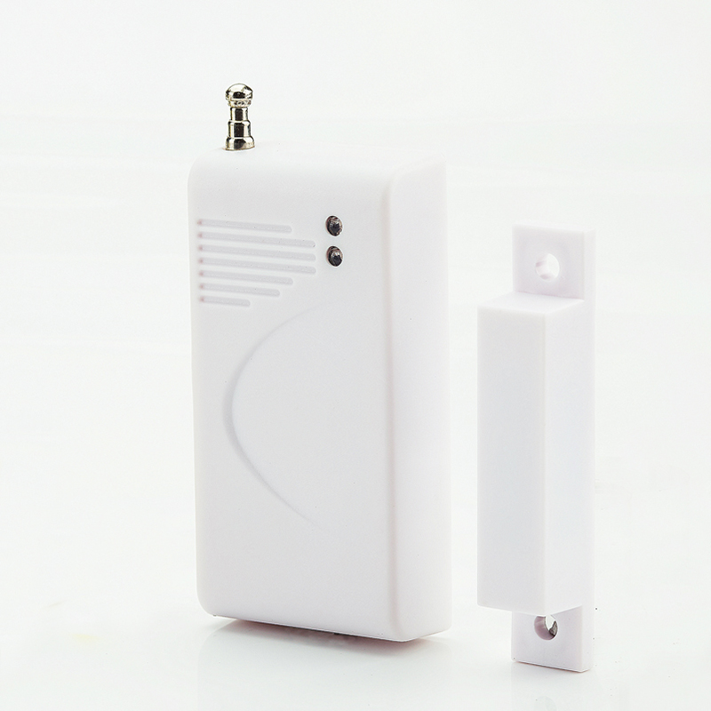 Independent Wireless Home Door Window Entry Burglar Alarm Standalone Magnetic Sensors Security Alarm Protect System 36x70x15mm