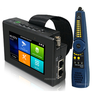 New 8MP 5 IN 1 TVI AHD CVI Analog IP CCTV Camera Tester Build in Battery Security Tester Monitor Video Audio Test PTZ