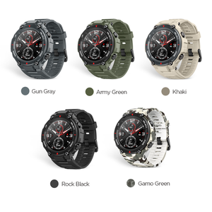 Image 2 - In stock 2020 CES Amazfit T rex T rex Smartwatch 5ATM waterproof Smart Watch GPS/GLONASS AMOLED Screen for iOS Android