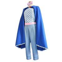 Movie Toy Story 4 Bo Peep Cosplay Shepherdess Woody Top Pants Cloak Full Set Suit Adult children Halloween Carnival Clothes