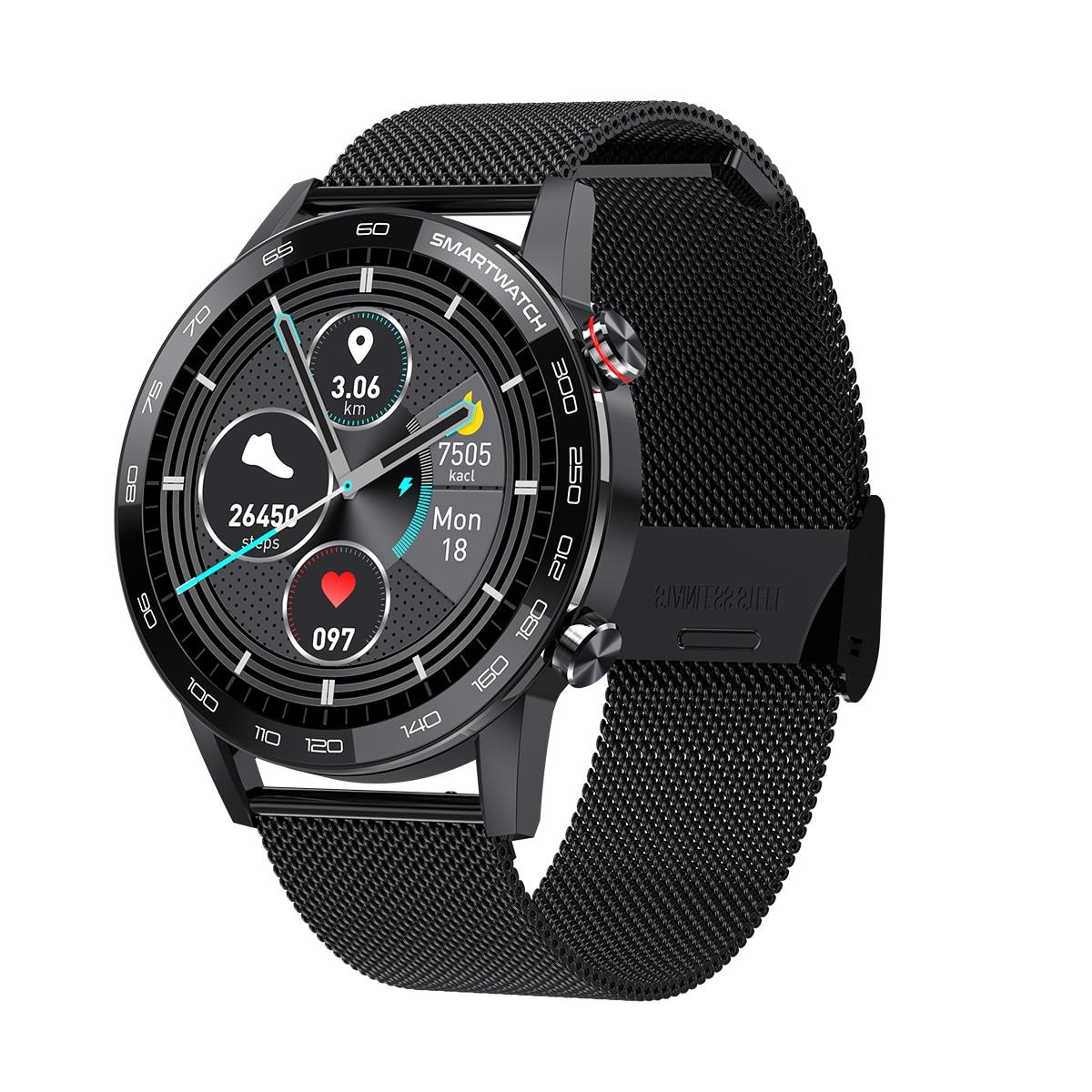 hd tela de toque completa smartwatch ecg