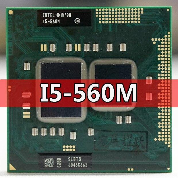Procesador de ordenador portátil i5-560M Intel Core i5 560M CPU PGA988