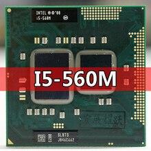 إنتل كور i5 560M الكمبيوتر المحمول معالج i5 560 م كمبيوتر محمول وحدة المعالجة المركزية PGA988 الكمبيوتر المحمول وحدة المعالجة المركزية